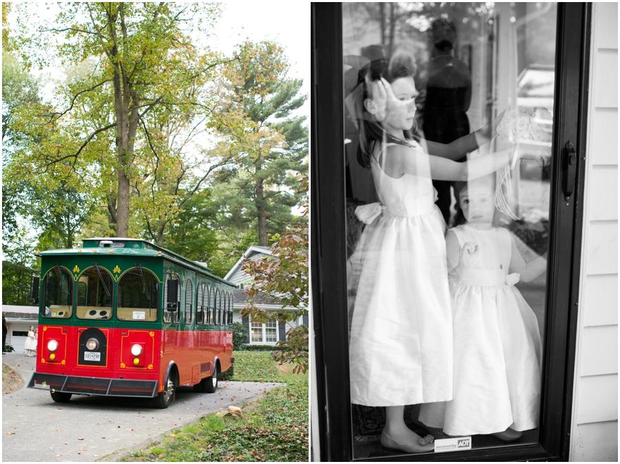 Towson Wedding Photographer - Wedding Trolley