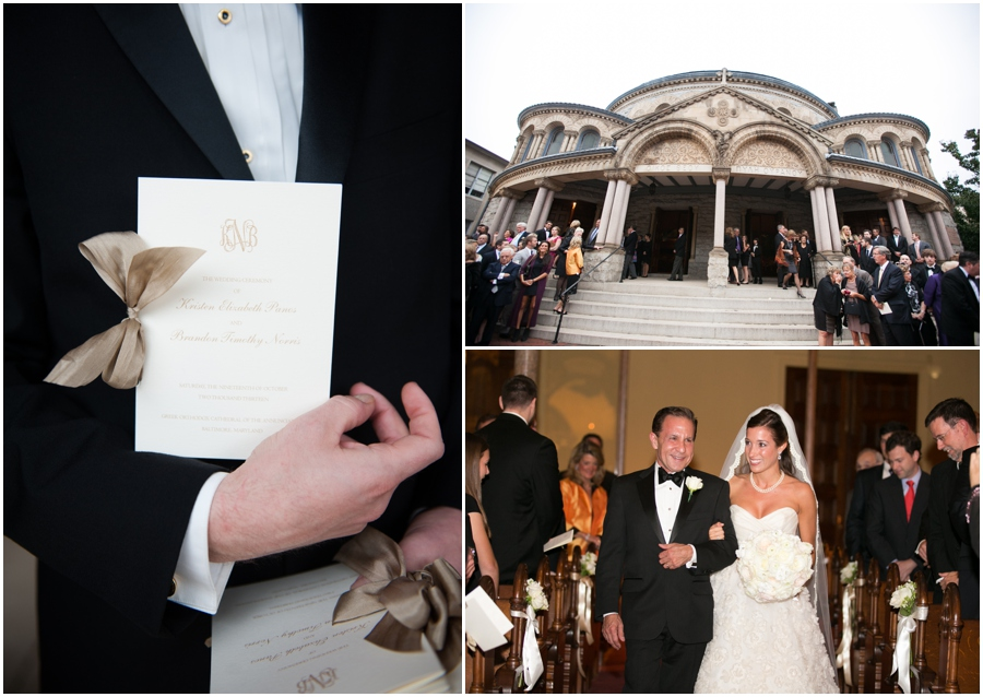 Towson Wedding Photographer - Elizabeth Bailey Weddings - Greek Orthodox Cathedral Baltimore