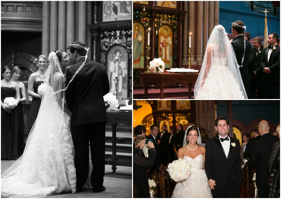 Towson Wedding Photographer - Greek Orthodox Cathedral of the Annunciation Baltimore