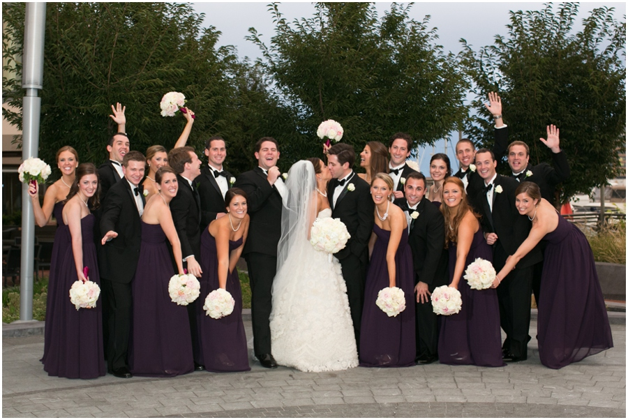 Four Seasons Baltimore Wedding Photographer - Elizabeth Bailey Weddings