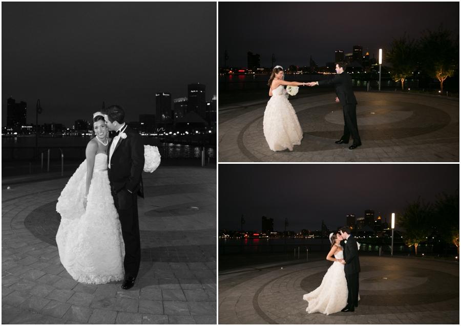 Baltimore Wedding Photographer - Elizabeth Bailey Weddings - Evening wedding portrait