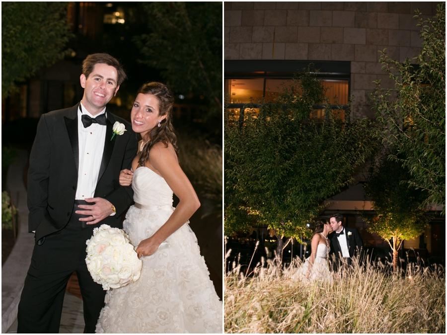 Four Seasons Wedding Photographer - Elizabeth Bailey Weddings - Evening wedding portrait