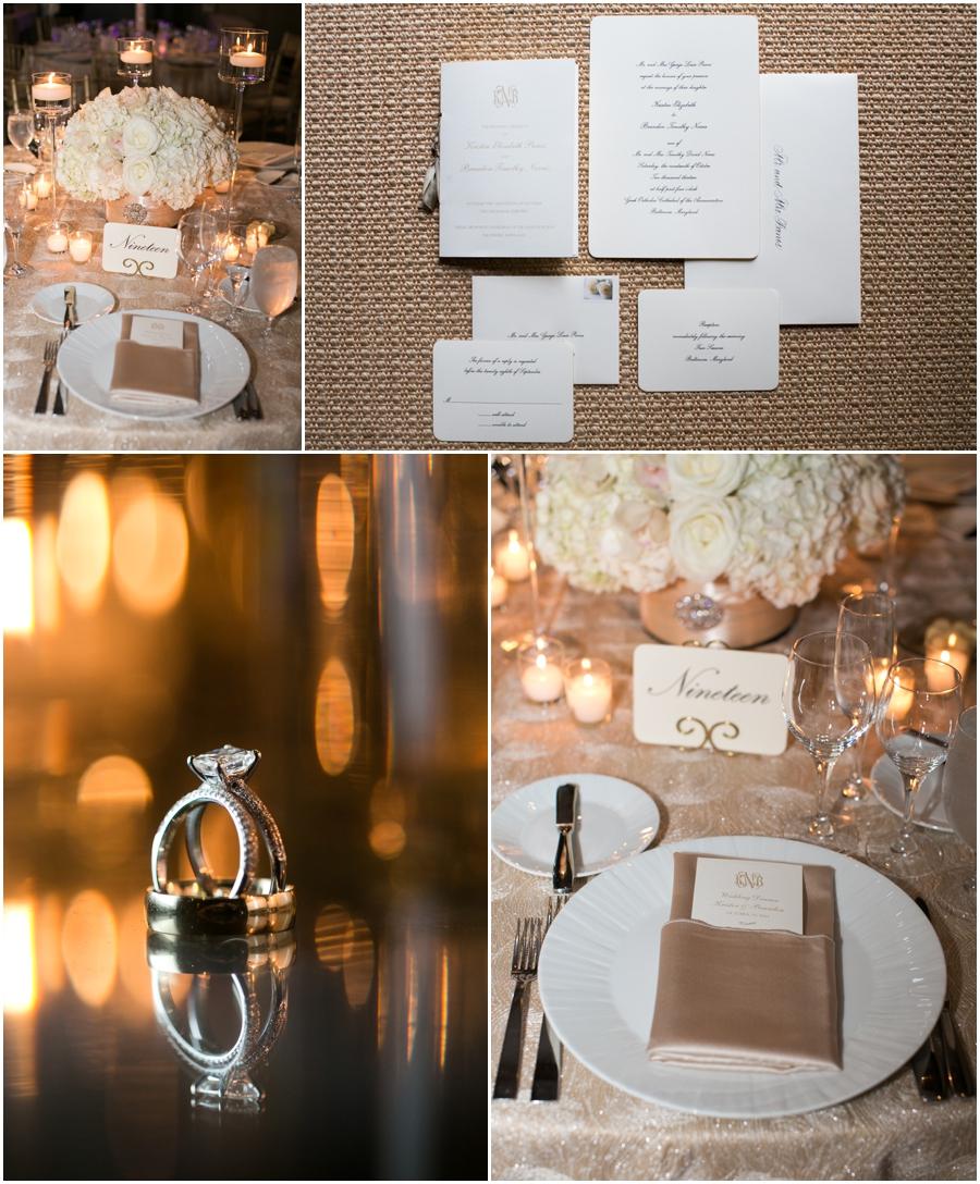 Four Seasons Reception Wedding Photographer - Elizabeth Bailey Weddings - Elegant wedding Reception