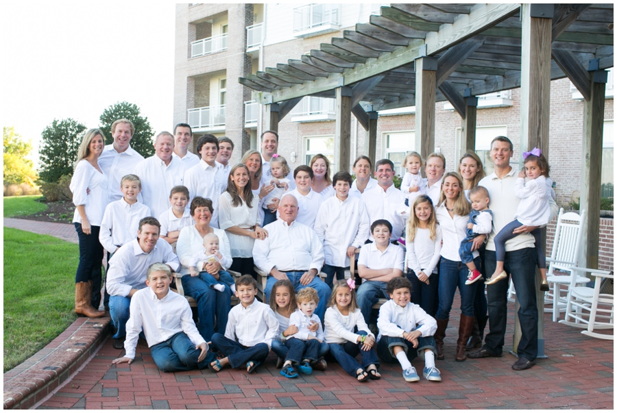 Hyatt Regency Family Portrait - Cambridge MD Professional Photographer