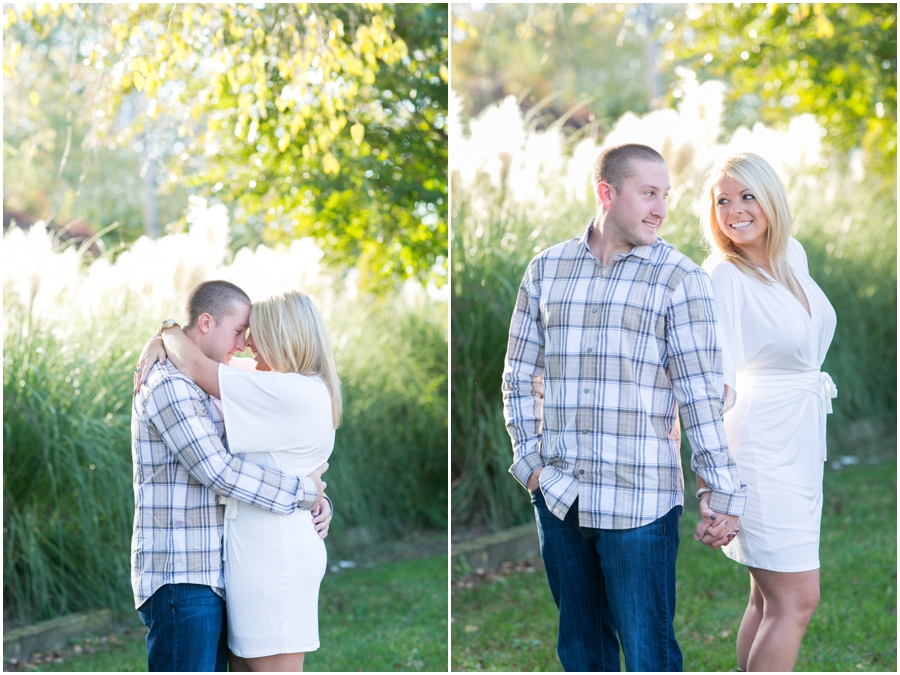 Broomes Island Engagement Session - Fall Engagement Photographer