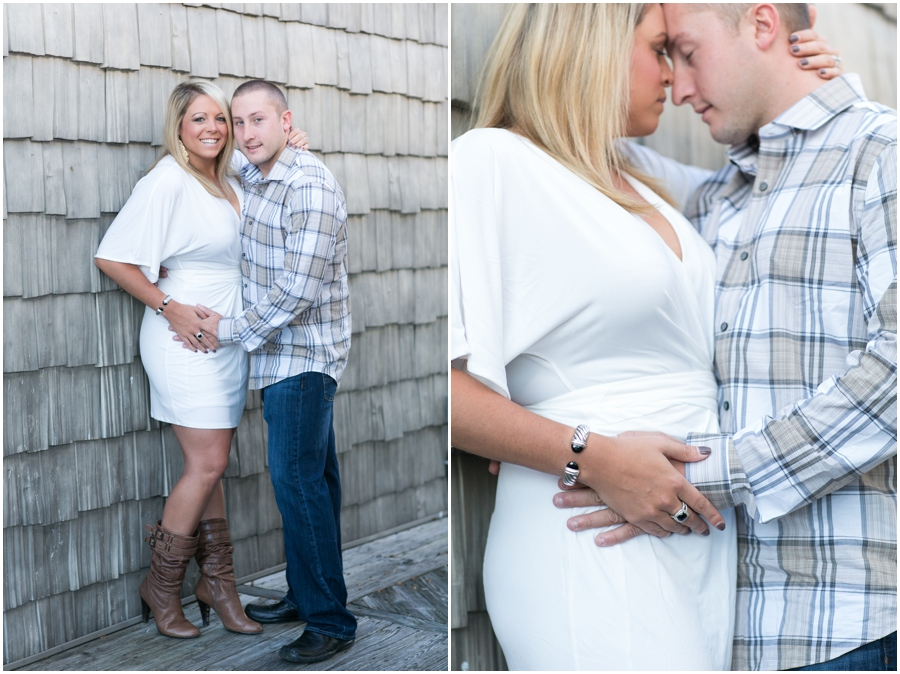 Stoney's Seafood Engagement - Fall Engagement Photographer
