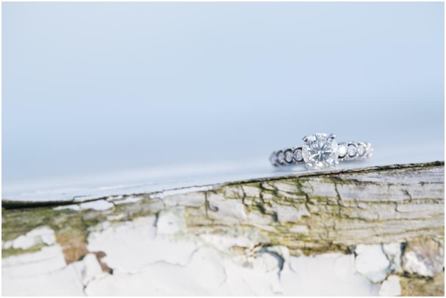 Broomes Island Engagement Ring - Hyatt Regency Chesapeake Bay Couple