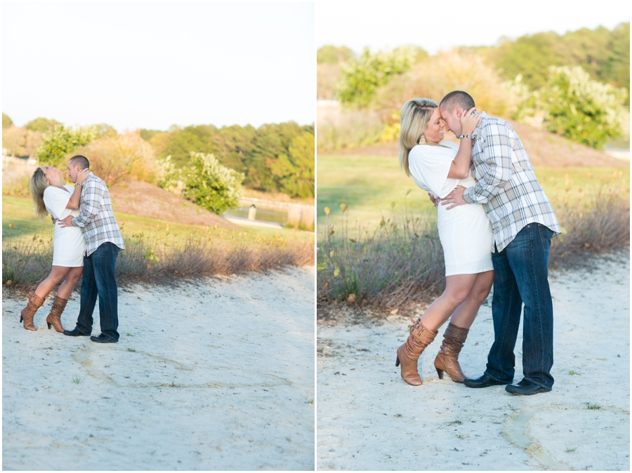 Stoney's Seafood Engagement Photographer - Hyatt Regency Chesapeake Bay Couple