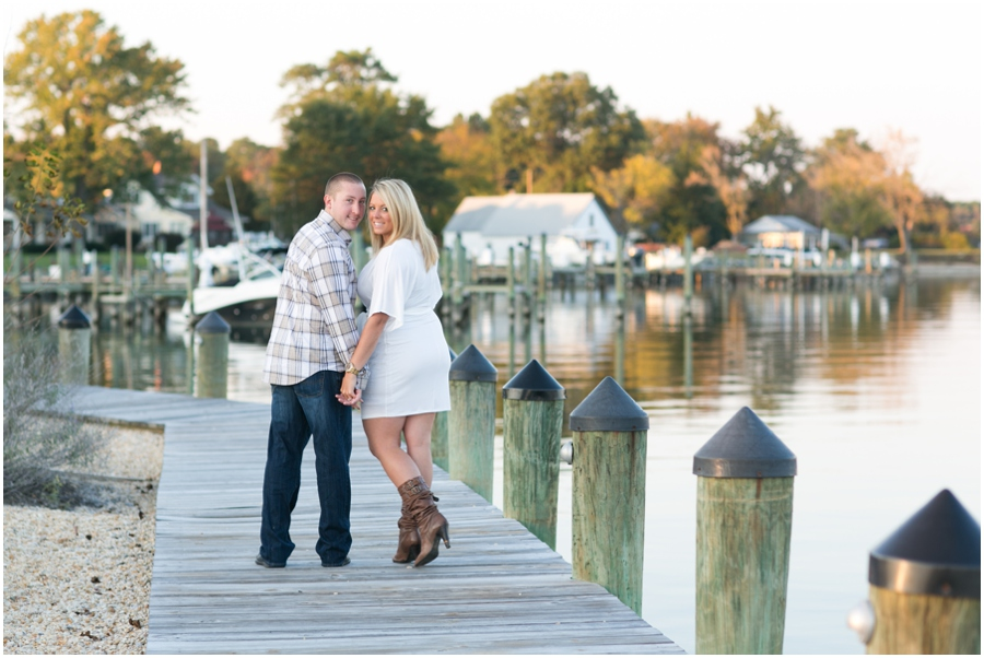 Broomes Island Engagement Session - Waterfront Engagement Photographer