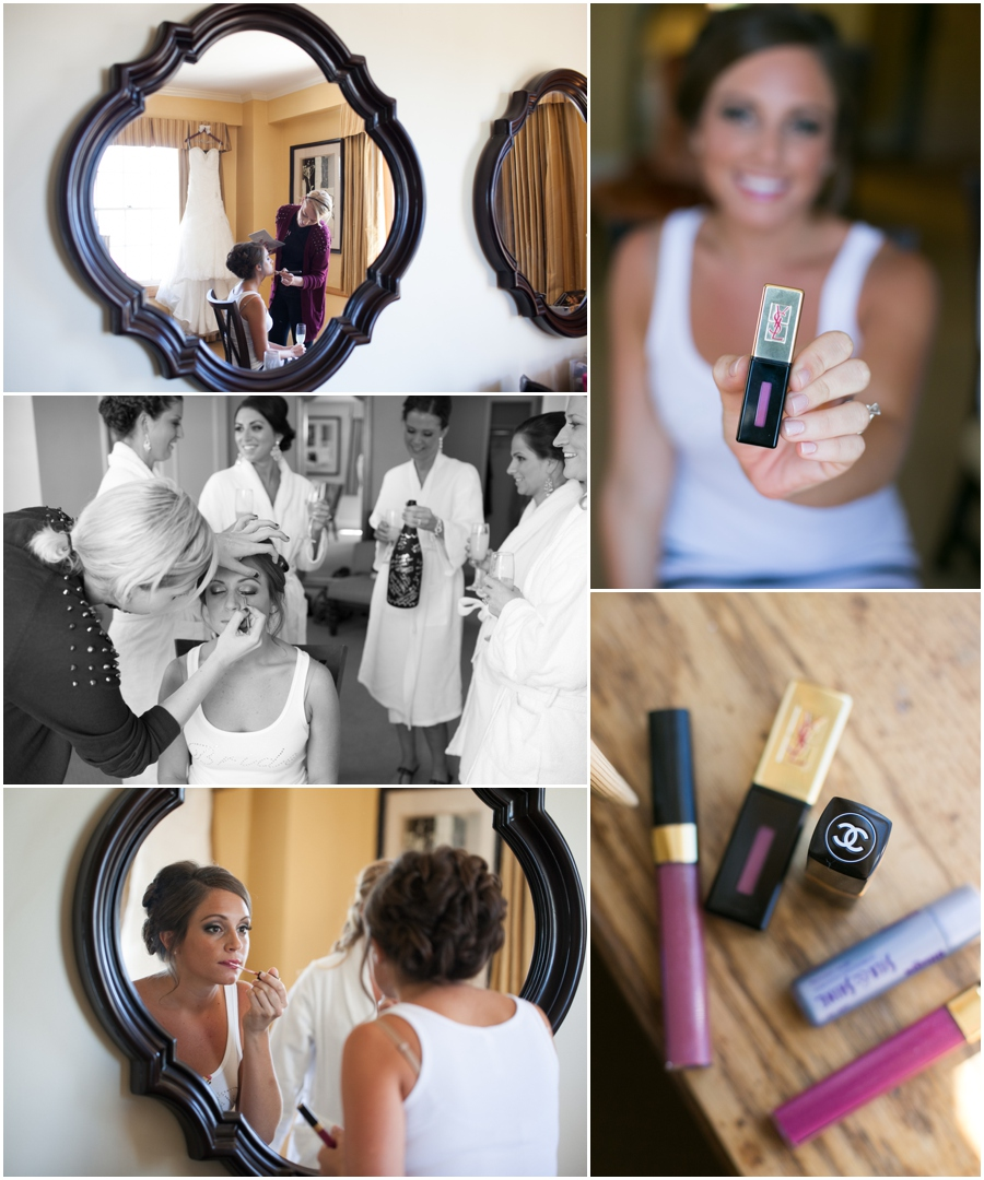 Professional Makeup and Hair Stylist - Annapolis Wedding Photography - Getting Ready photo