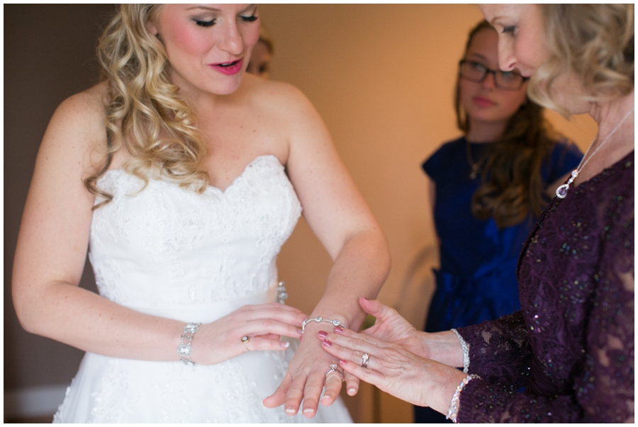 St Marys Annapolis Wedding - Getting Ready photograph
