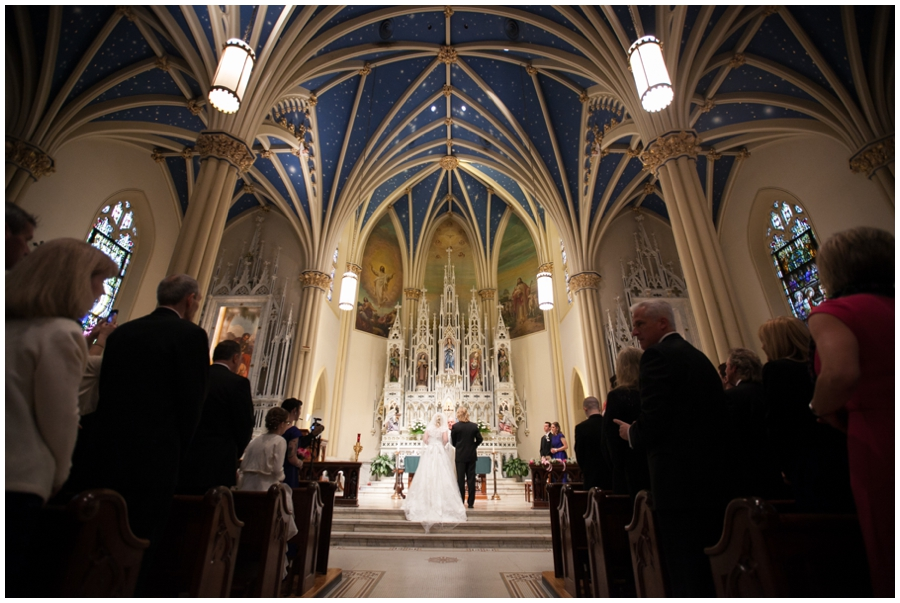 St Marys Annapolis Wedding Ceremony Photographer