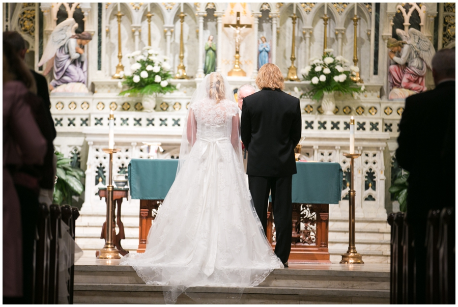 St Mary's Annapolis Wedding Ceremony Photographer