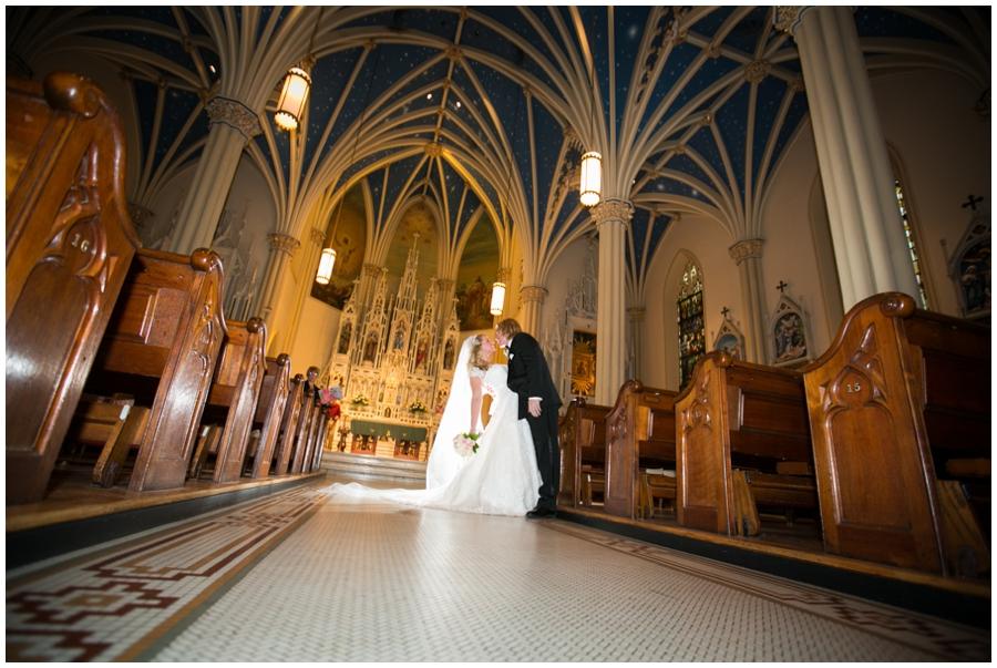 St Mary's Parish Annapolis Wedding Photographer