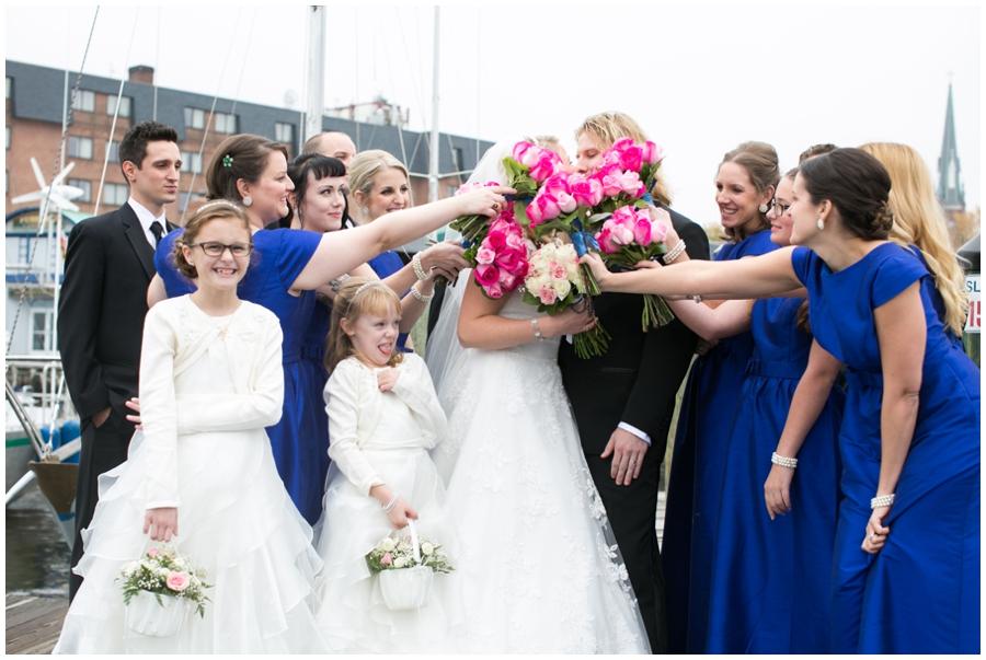 City Dock Annapolis Winter Wedding Photography