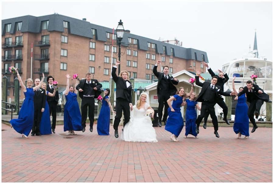 City Dock Annapolis Wedding Photography