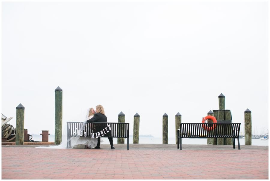 City Dock Annapolis Wedding Photographer - waterfront wedding photography