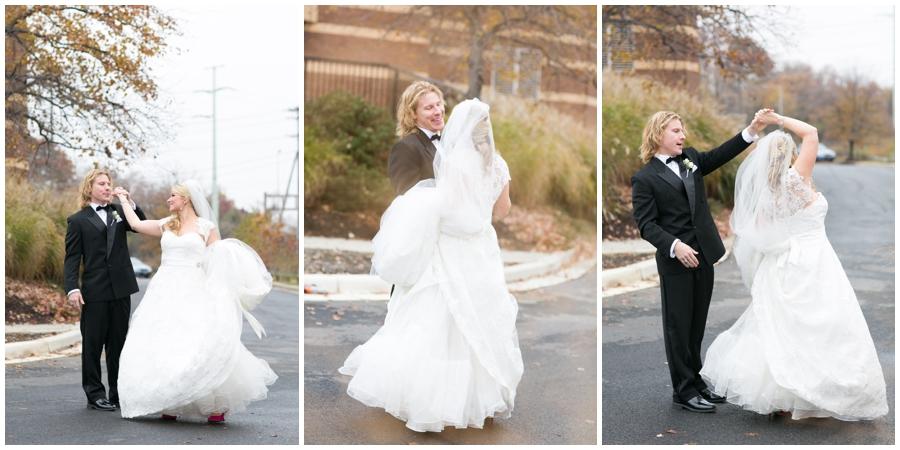 Sheraton Annapolis Winter Wedding Photographer - candid wedding photograph