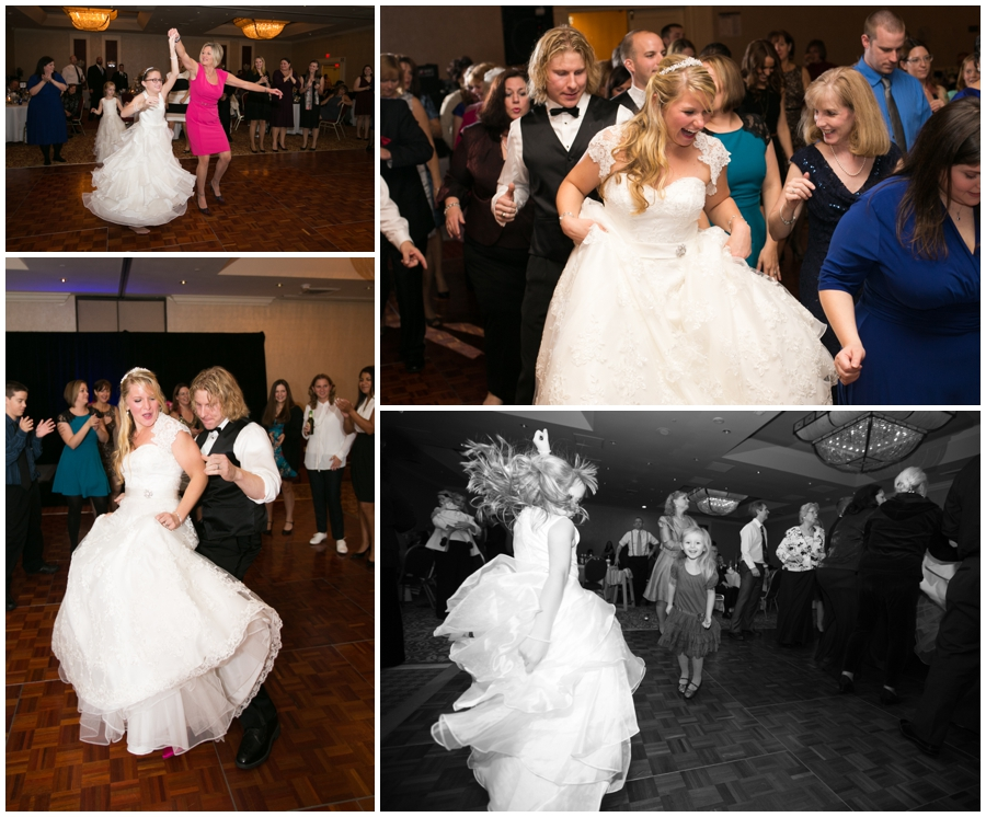 Sheraton Annapolis Winter Wedding Reception - Indoor Reception