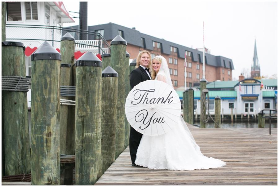 City Dock Annapolis Maryland Wedding Photographer