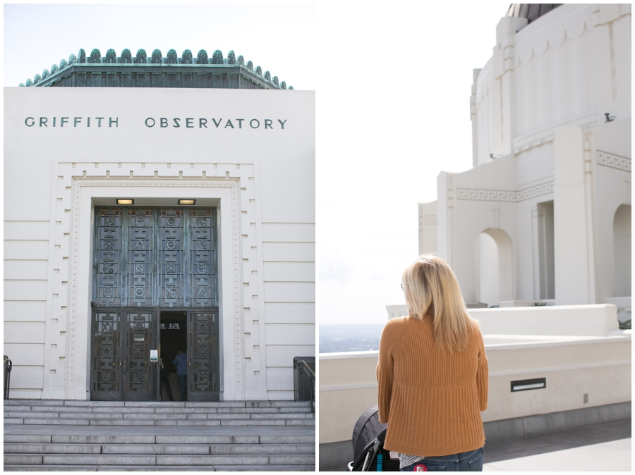 Griffith Observatory Family - Los Angeles Destination Lifestyle Photographer