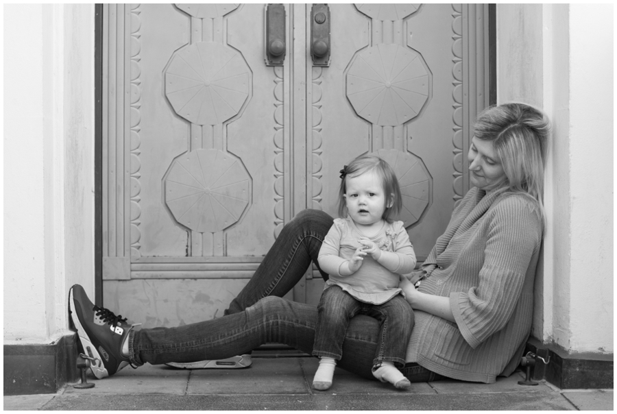 Griffith Observatory Mom & Daughter - Los Angeles Destination Photographer
