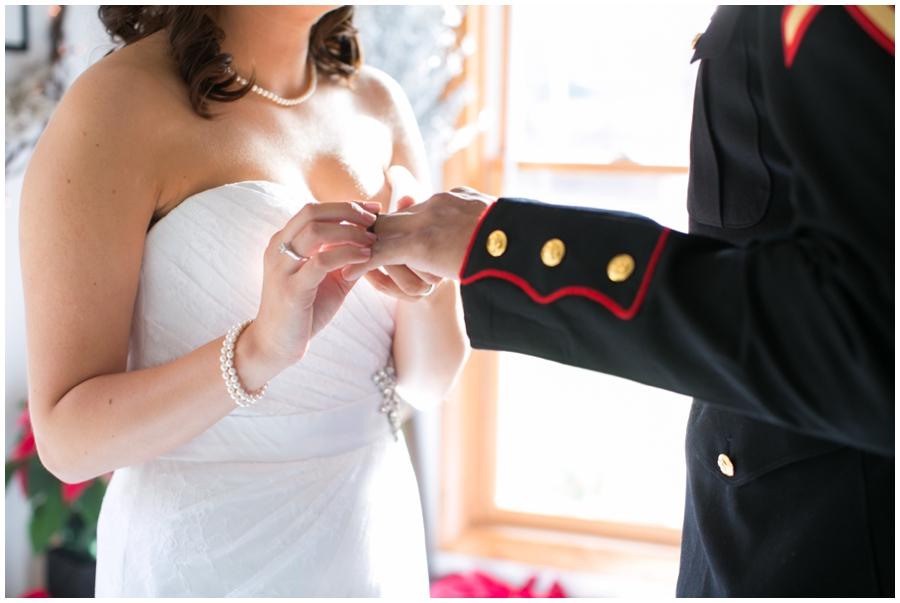 Annapolis Military Elopement Photographer - Annapolis Wedding Chapel