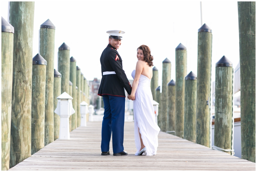 Annapolis Elopement Photographer - Winter Wedding Photographer