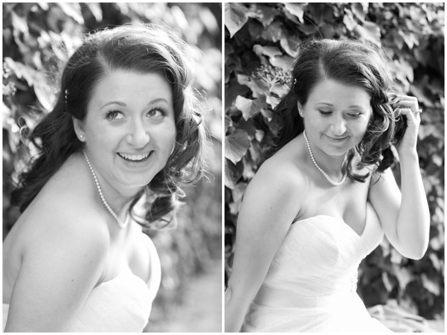 Annapolis Bridal Photographer - Winter Bridal Portrait