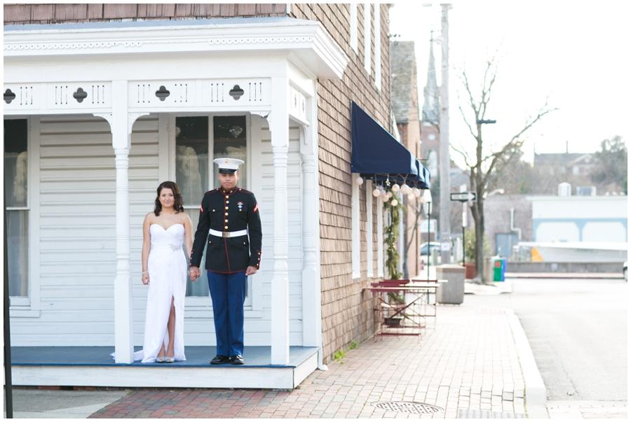 Annapolis Elopement Photographer - Sofi's Crepe Love Portrait