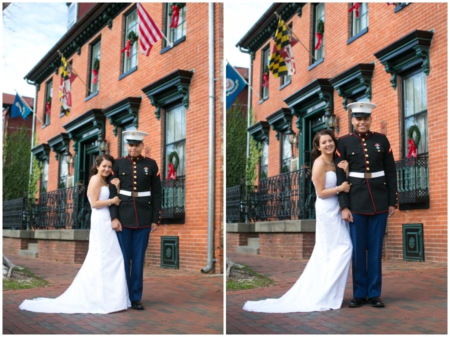 Gibson's Lodging of Annapolis Elopement Photographer - Winter Love Portrait