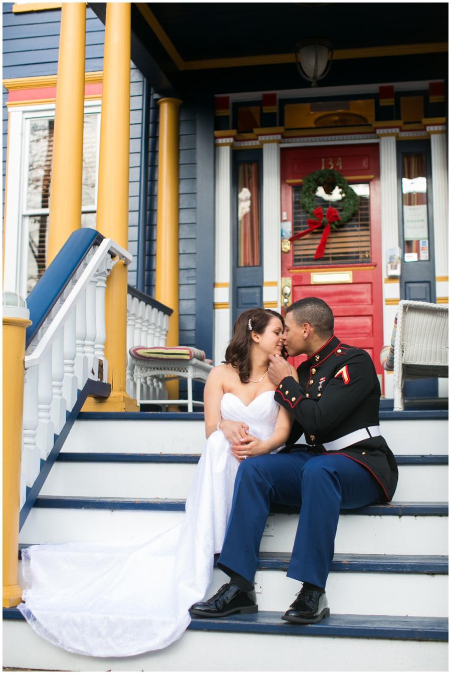 Annapolis Elopement Photographer - Winter Love Portrait