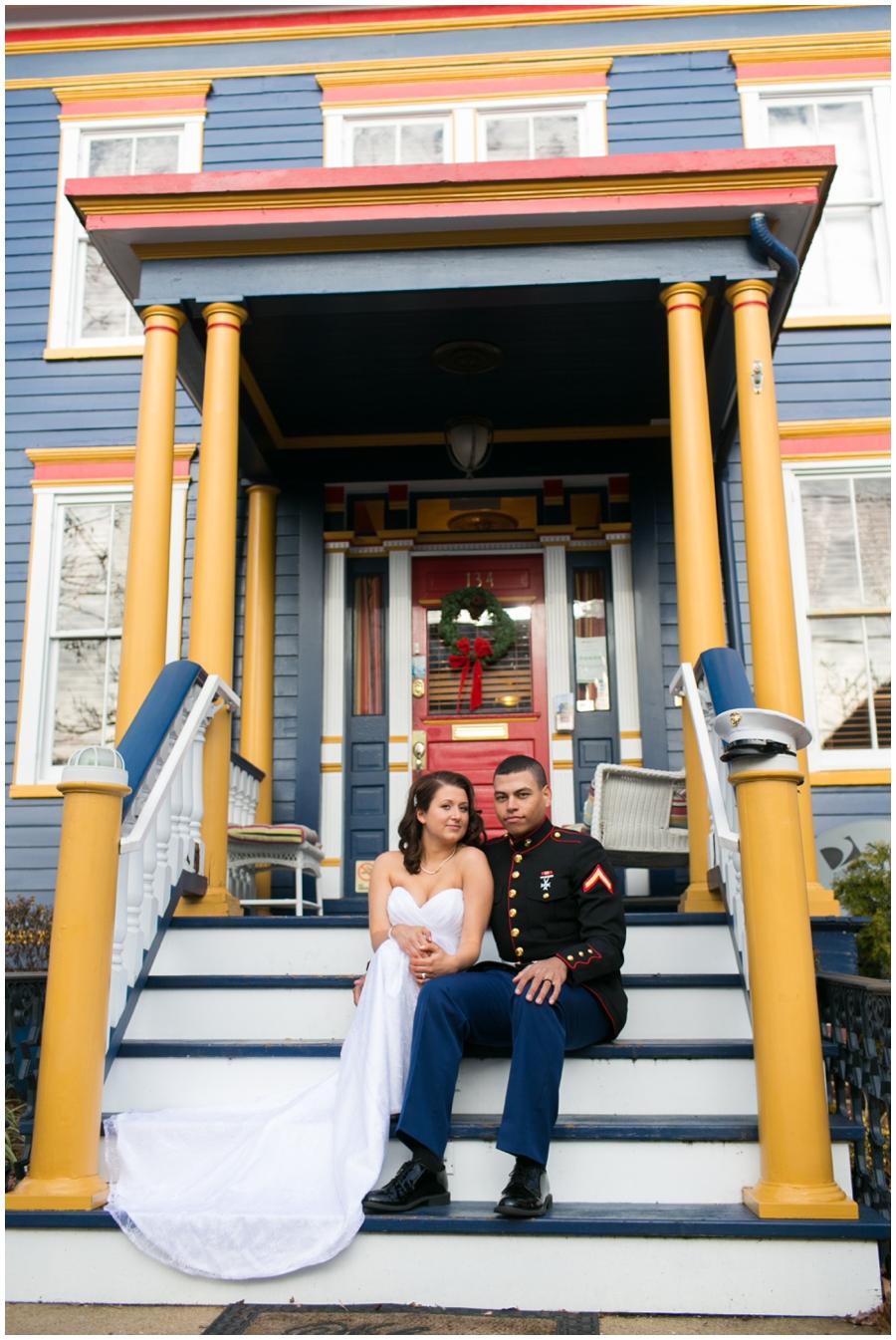 Annapolis Elopement Photographer - USNA Love Portrait