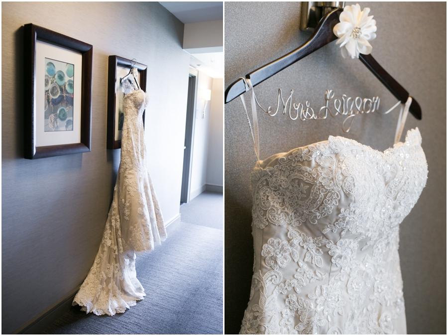 Westin Annapolis Bridal Portrait - Betsy Robinson's Bridal - Martina Liana