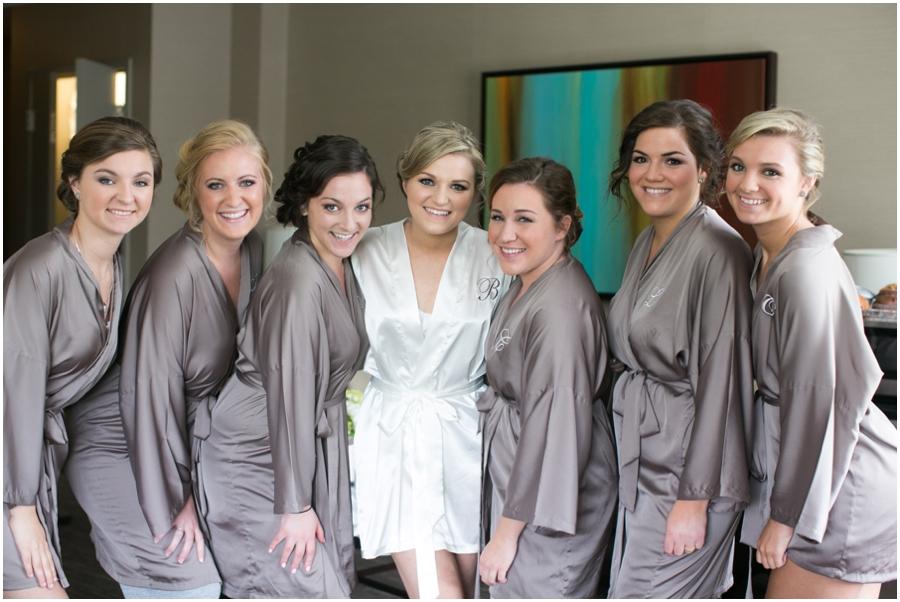 Westin Annapolis Bridesmaid Robes - Betsy Robinson's Bridal