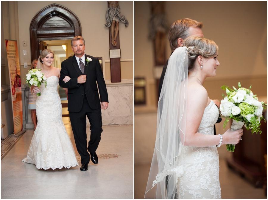 St. Mary's Annapolis Wedding Photographer - Catholic Ceremony