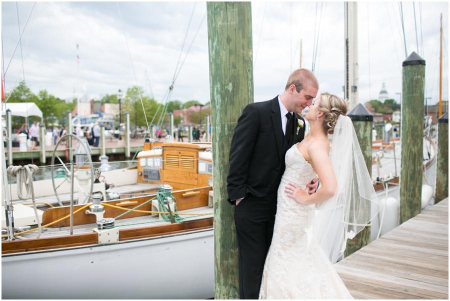 Silver Swan Bayside Wedding Photographer - City Dock Wedding Portrait