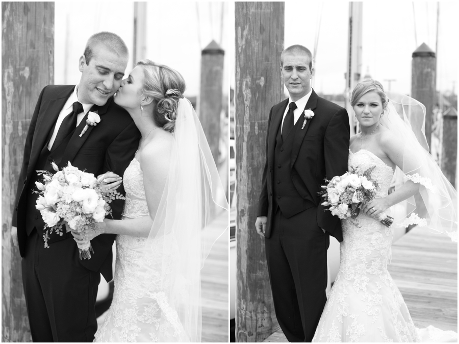 Annapolis Wedding Photographer - City Dock Wedding Portrait