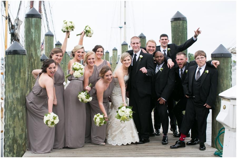 Annapolis Wedding Photographer - City Dock Wedding party