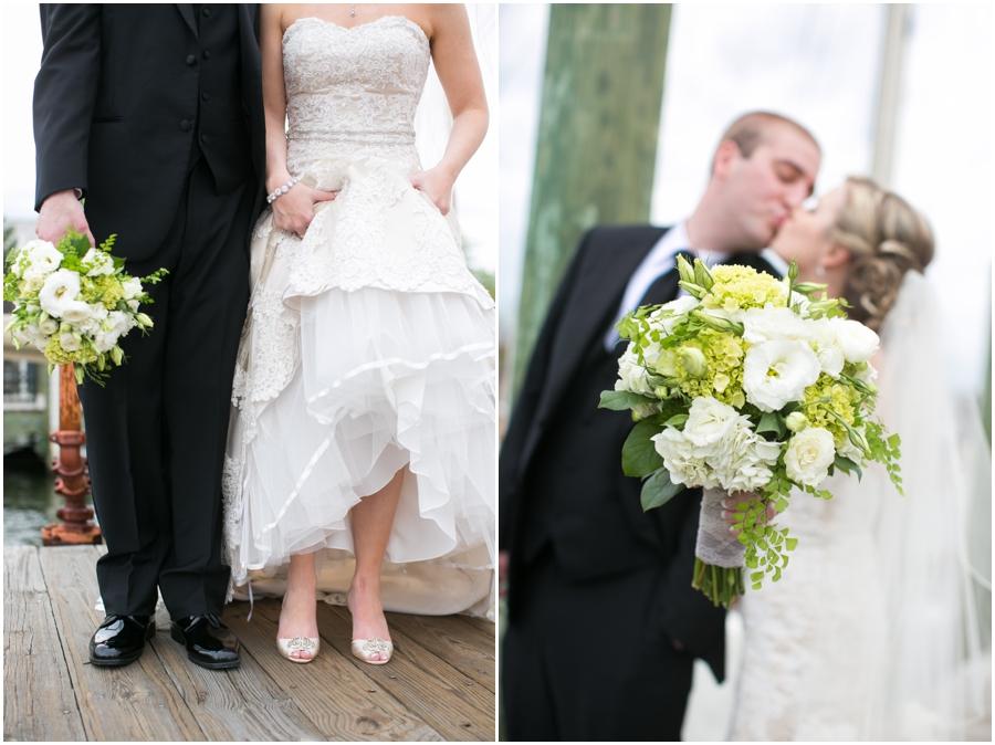 City Dock Annapolis Bridal Portrait - The Flower shop by Koons Florist
