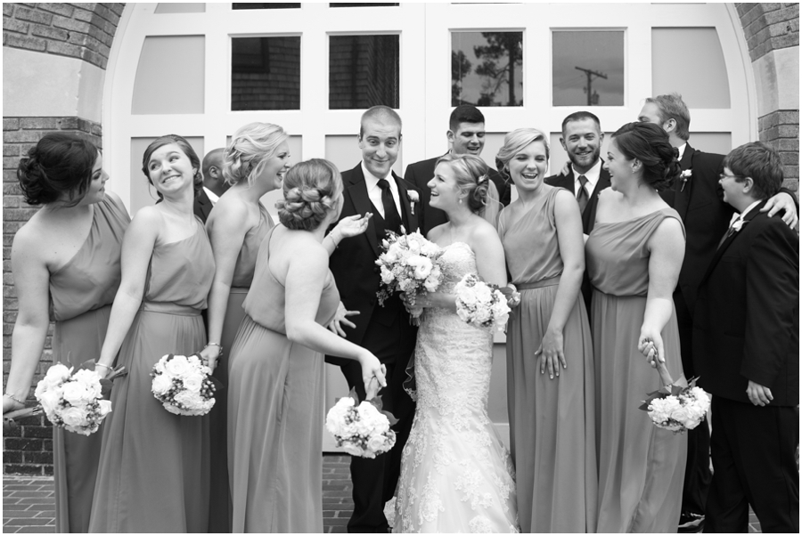 Annapolis Wedding Photographer - Waterwitch Wedding party