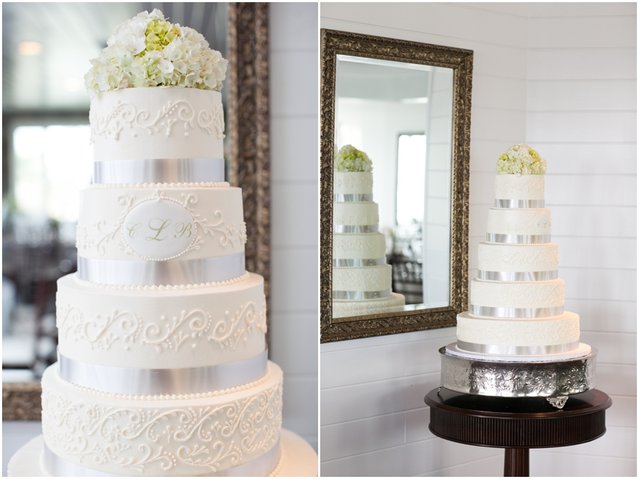 Silver Swan Bayside Reception - The Flower shop by Koons Florist