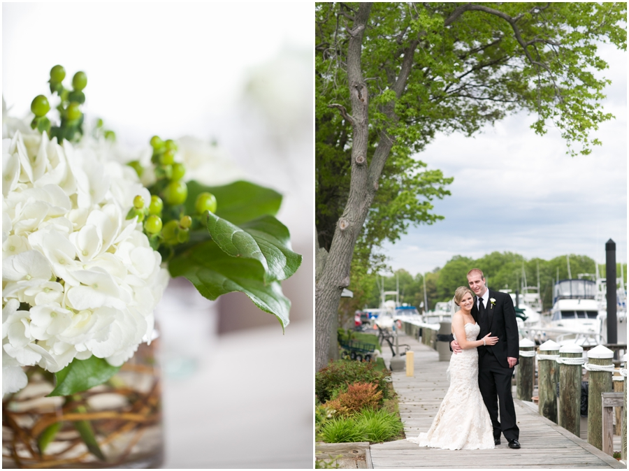 Silver Swan Bayside Reception Details - Eastern Shore Wedding Photographer