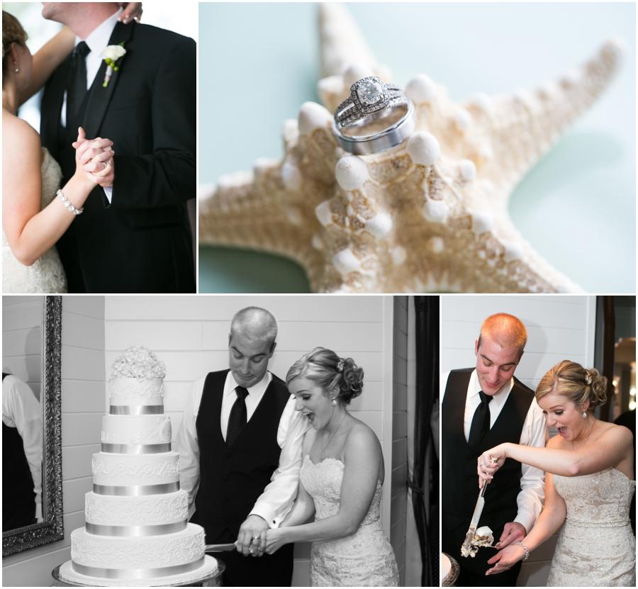 Silver Swan Bayside Reception - Eastern Shore Wedding Photographer