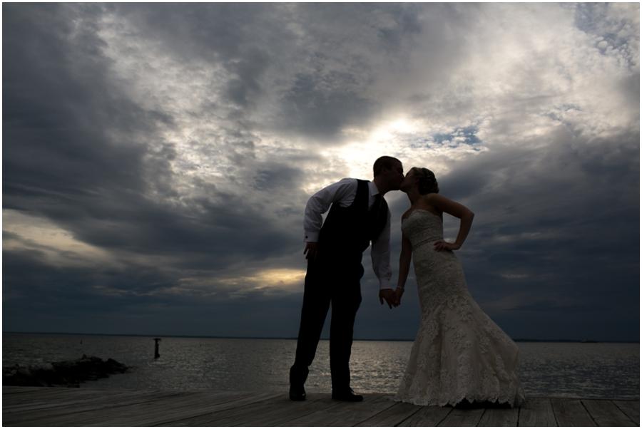 Silver Swan Bayside Wedding Sunset
