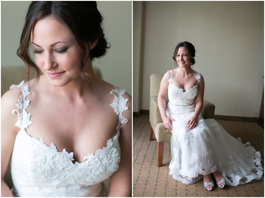 Sheraton Hunt Valley Wedding Photographer - Bridal Portrait- KRM Jewel etsy jewelry