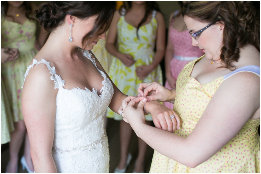 Sheraton Hunt Valley Wedding Photographer - Getting Ready