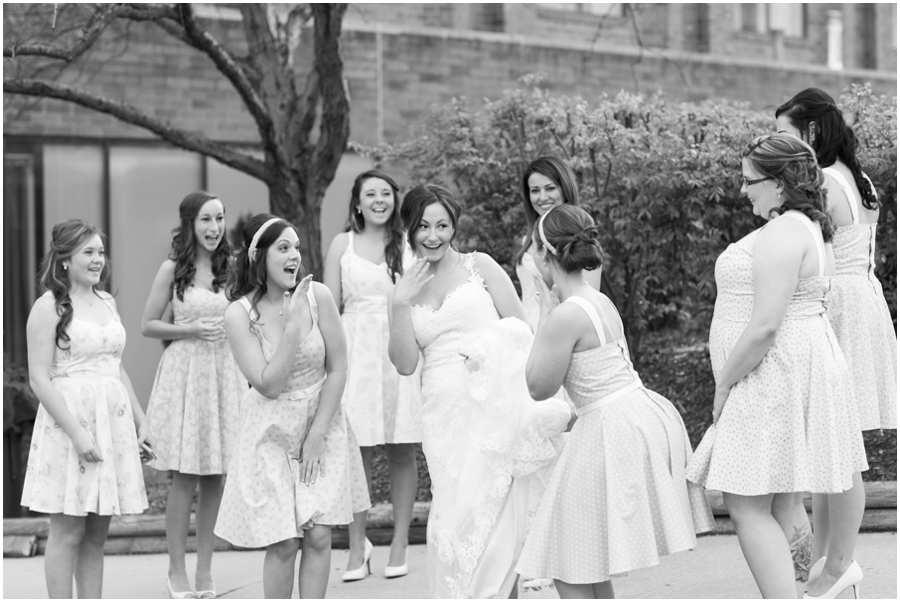 Hunt Valley Wedding Photographer - Sheraton Hunt Valley Bridesmaid portrait