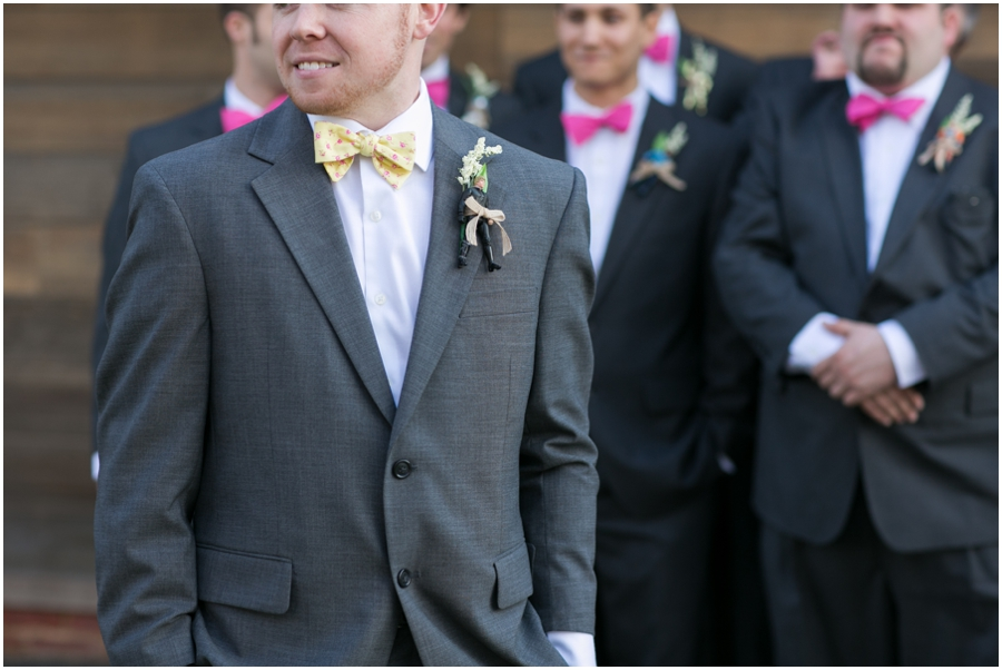 Hunt Valley Wedding Photographer - Oregon Ridge Park Groomsmen portrait