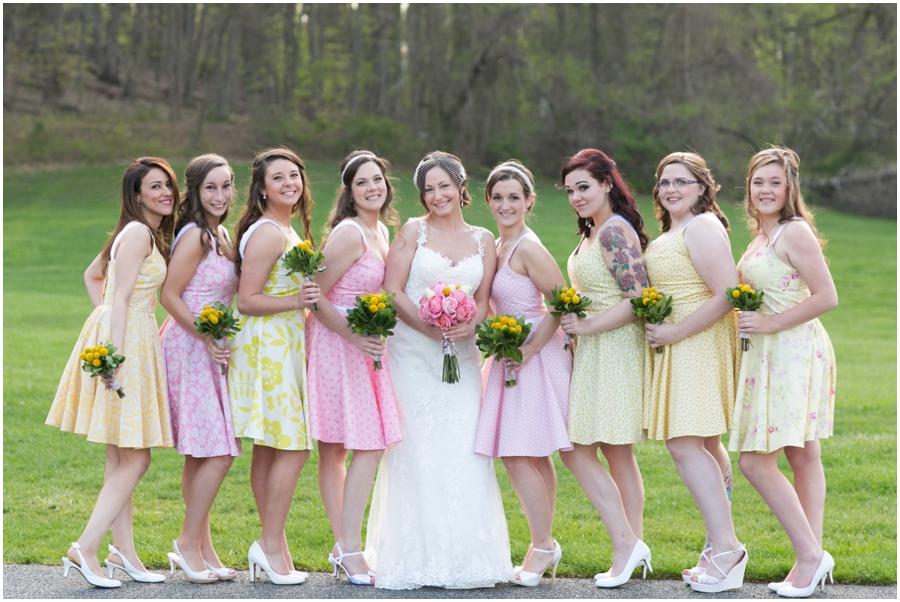 Hunt Valley Wedding Photographer - Oregon Ridge Park Bridesmaid portrait